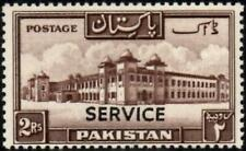 Pakistan 1953 Official Stamp  2r.Chocolate  SG.O42 Mint (Hinged)