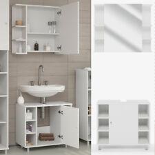 VICCO FYNN Meuble sous-lavaboarmoire de bainmeuble de salle de bain blanc