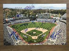 2017 LOS ANGELES DODGERS team signed 12x18 photo ~ 20 signatures!