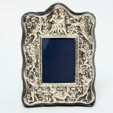 MINI RC STERLING SILVER FRAME WITH REPOUSSE DESIGN