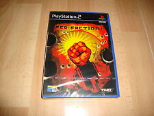 RED FACTION II DE THQ PARA LA SONY PLAY STATION 2 PS2 NUEVO PRECINTADO