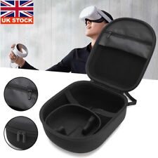More details for for oculus quest 2 vr travel carrying case vr headset bag storage waterproof