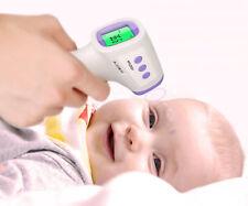 IR Digital berührungslose Fiberthermometer 2 in 1 Körper Fläche Infrarot aus DE