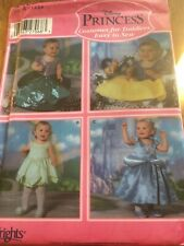 Simplicity Disney Princess paper sewing pattern. New & Uncut 5402 size 6mths-4