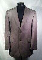 Jos. A. Bank Blazer Sportcoat Brown Wool Cashmere Blend Men's Size 42 R