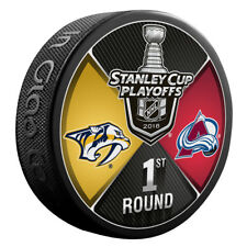 Nashville Predators VS Colorado Avalanche 2018 NHL 1ST RD Playoffs Dueling Puck