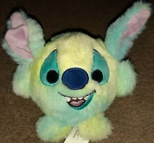 """Disney Squeeze Me Slow Rise 5"""" Plush Stitch Rainbow Ball Just Play"""