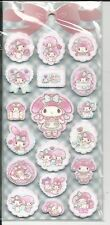 Sanrio My Melody Thick Foam Puffy Stickers