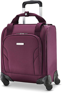 Samsonite Luggage Underseat Carry-On Spinner with USB Port