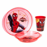 Character Kids 3 Piece Stacking Meal Set Cup Bowl Plate Disney Frozen Elsa