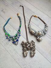 Lot collier Shourouk Calypso necklace Shourouk