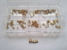 100pcs M2 copper phillips countersunk sheet metal screws flat self attack bolts
