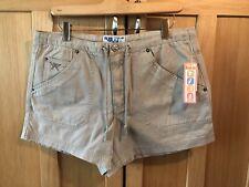 NWT Vintage Stock TILT/PacSun Sz 11/12 Butterfly Embroidered Khaki Shorts!