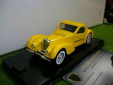 BUGATTI TYPE 57S ATALANTE 1939 Jaune PUB au 1/43 SOLIDO FRANCE voiture miniature