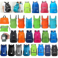 35L Foldable Waterproof Outdoor Sports Backpack Camping Hiking Travel School Bag