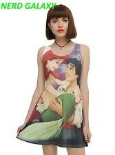 Disney The Little Mermaid Ariel & Eric Dress, Juniors Large, LICENSED! NEW!