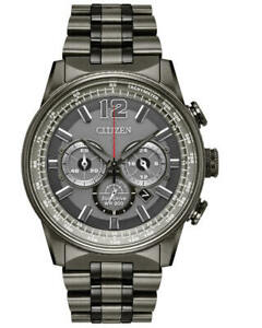 Citizen CA4377-53H Men's Nighthwak Chronograph Eco-Drive Watch