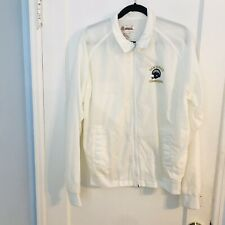 Vintage Antigua White San Diego Chargers Zipper Windbreaker (size Medium)