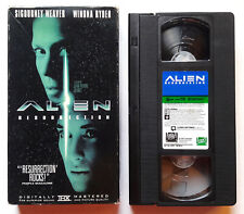1997 Alien Resurrection SCIENCE FICTION HORROR MOVIE ORIGINAL VHS TAPE