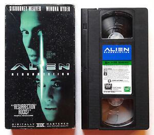 1997 Alien Resurrection SCIENCE FICTION HORROR MOVIE ORIGINAL VHS TAPE