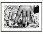 Helmut Newton,'Money Hand', Fine art print, Various sizes