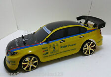 BMW M3 4WD DRIFT RADIO REMOTE CONTROL CAR 1/10+FREE TYRES NEW RAPID FAST SPEED
