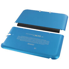 ZedLabz Top & Bottom Cover Plates for Nintendo 3ds XL Console (old 2012) - Blue