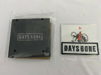 Days Gone PS4 Collectors Edition Enamel Pins, Patch & Decal Set | NO GAME
