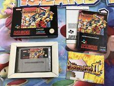 Juego Completo Super Nintendo Snes Breath of Fire II Versión Pal Original CIB