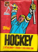 1987-88 Topps Hockey 12-card Wax Pack  -  Luc Robitaille ROOKIE ?