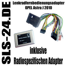 PDC CAN BUS Interface Lenkrad Adapter OPEL ASTRA J ab 2010 Radio Alpine Kenwood