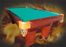 8Ft. Pool Tunier Billardtisch mit Schieferplatten 3cm Billard Massivholz