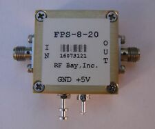 Frequency Divider 0.1-20GHz Div 8, FPS-8-20, New, SMA