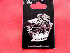 Disney * MALEFICENT &  DRAGON - Castle Turret * New on Card 3D Villain Pin