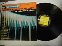 33RPM Jazz Vinyl Honky Tonk Piano with Rhythm, The Krauts Rondo ST588 112612LAE