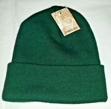 New W/Tag ST JOHN'S BAY Green Knit Cap Hat Acrylic