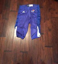 Adidas Men's Kansas Jayhawks Football Climacool Pants Sz. Large NEW 88387