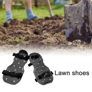 Garden Aerator Spiker Shoes Durable Lawn Spike Exercise Duty Sandals Heavy H1P5