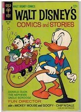 WALT DISNEY'S COMICS AND STORIES #298 1965 BARKS ART GOLD KEY SILVER AGE NICE!