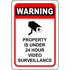this property under video surveillance sign - HD 1600×1600