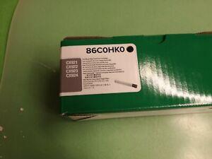 Lexmark Toner 86C0HK0 (black /schwarz) - Orignal - Verpackung beschädigt