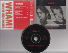 WHAM! Twelve Inch Mixes 5 TRACK CD ARTONE HOLLAND GEORGE MICHAEL