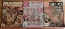 Set of 3 Jenny Haskin's Creative Expressions - Issues 7, 16, 22