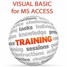 VISUAL BASIC for MS ACCESS - Video Training Tutorial DVD