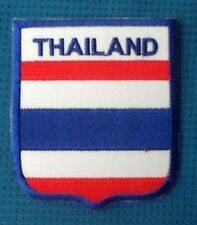 THAILAND THAI COUNTRY FLAG SIAM BADGE IRON SEW ON PATCH