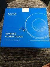 HomeLabs Sunrise Alarm Clock - Digital LED Clock w/ 6 Color Switch