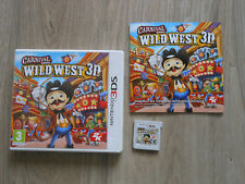 CARNIVAL GAMES WILD WEST 3D * GAME NINTENDO 3DS , 100% GENUINE