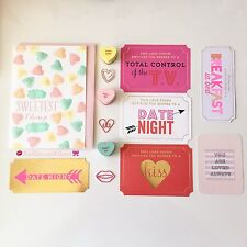 Valentine's Dream believe live love starter kits (Paperclips, journaling cards.