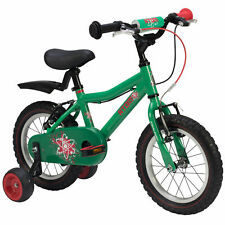 Raleigh Atom 14 Kids Child Bike Bicycle Cycle 14 Inch 2019 Boys Green