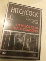 Dvd LO MEJOR ES LO MALO DESCONOCIDO   (PRECINTADO nuevo) HITCHCOCK